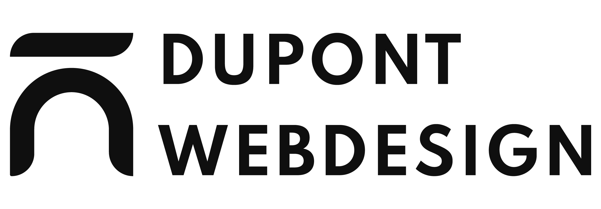Dupont Webdesign Logo Large